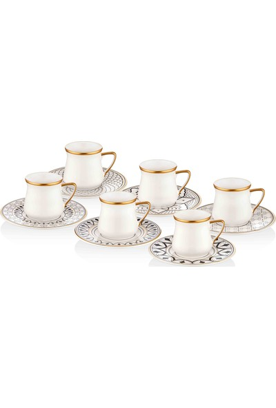 The Mia Maroc Kahve Fincanı Seti - 6 Kişilik
