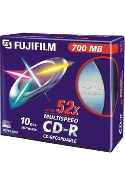 Fujifilm Cd-R 700MB - 52X Ince Kutu - 10 Adet