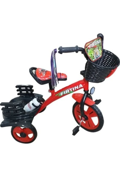 Dilaver Elegance 3 Tekerlekli Lüx Bisiklet Kırmızı