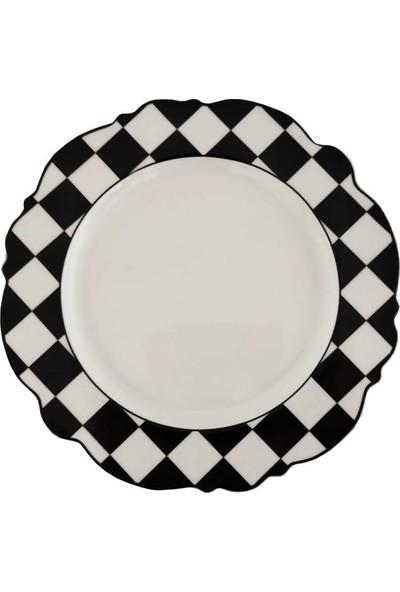 Royking Bone Porselen 24 Parça Yemek Takımı