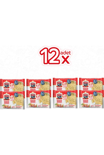 Oba Mie Noodle Spesiyal 12 adet 75 Gram