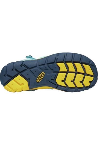 Keen Seacamp Iı Cnx Genç Sandalet Yeşil/sarı