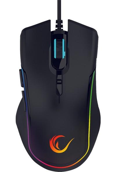 Rampage SMX-R27 Voyager USB RGB Makrolu Gaming Oyuncu Mouse