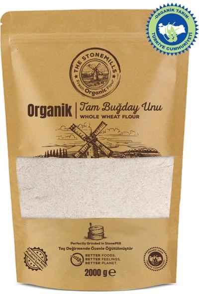 The Stonemills Organik Taş Değirmen Tam Buğday Unu - 2 kg