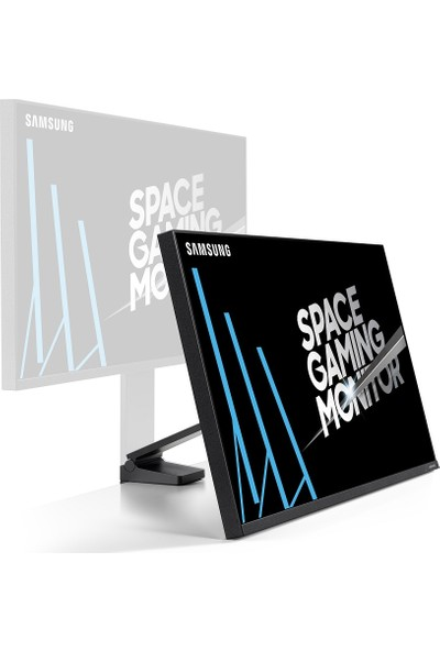 "Samsung LS32R750QEMXUF 32"" 2K 144Hz (HDMI+Mini Display) FreeSync Space Gaming VA Monitör"