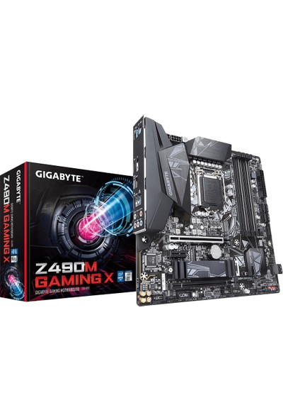 Gigabyte Z490 Gaming X Intel® Z490 4600 MHz DDR4 1200 Pin ATX Anakart