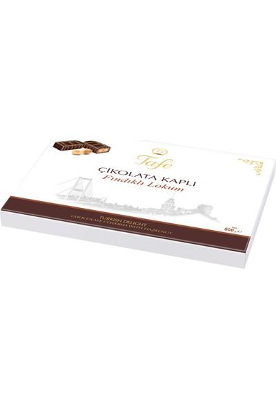 Tafe Çikolata Kaplı Fındıklı Lokum 500g