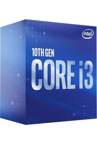 Intel Core i3 10100 3.6GHz LGA1200 6MB Cache İşlemci