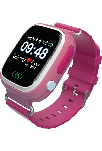 Bilicra BLC101 Akıllı Çocuk Saati- Pembe