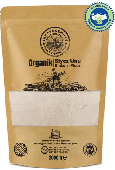 The Stonemills Organik Taş Değirmen Siyez Unu - 2 kg