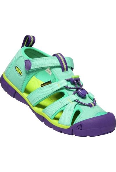 Keen Seacamp Iı Cnx Çocuk Sandalet Yeşil- Mor