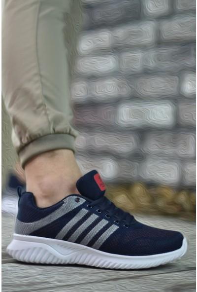 Riccon Lacivert Gümüş Kırmızı Erkek Sneaker 0012SORLOTH