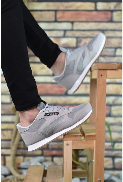 Riccon Buz Beyaz Krep Erkek Sneaker 00121057