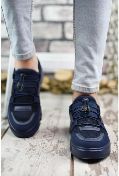 Riccon Lacivert Lacivert Erkek Sneaker 00122023