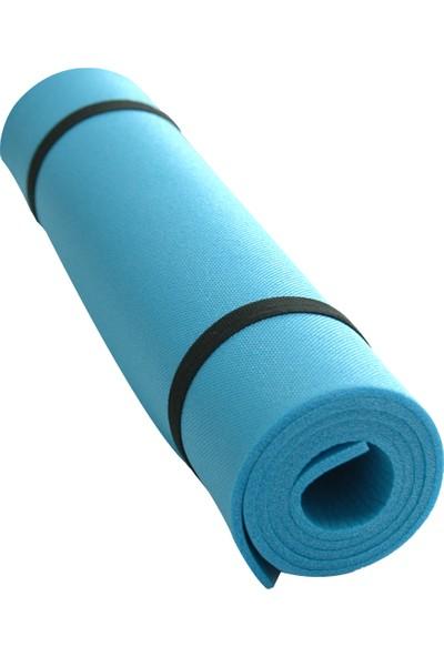 Ege Online Pilates Minderi ve Yoga Matı 140 x 50 cm - 6 mm Mavi