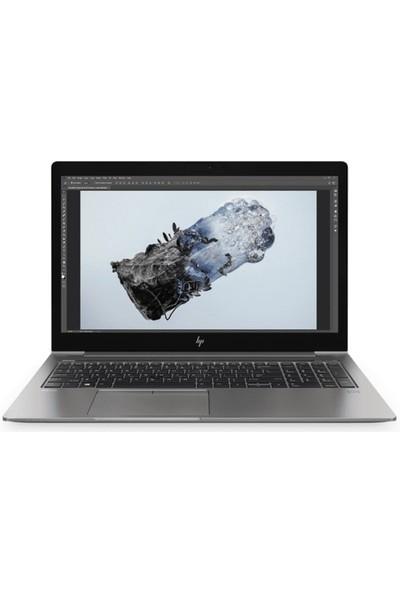 """HP WS ZBook 15U G6 Intel Core i7 8565U 16GB 512GB SSD Radeon 520 Windows 10 Pro 15.6"""" FHD Taşınabilir Bilgisayar"""