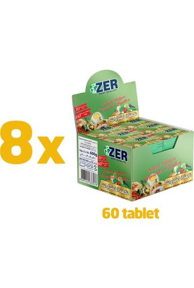 Zer Sebzeli Bulyon Tablet 2'li x 30 x 8 Kutu