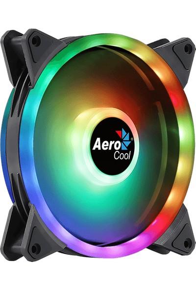Aerocool Duo14 14cm ARGB Adreslenebilir RGB LED Fanlı - Otomatik Hız Ayarlı - PWM - Kasa Fanı (AE - CFDUO14)