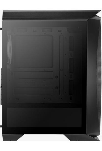 Aerocool Aero One Duo Cam 500W 80+ Yan Panel 4x12cm ARGB Adreslenebilir RGB Fanlı - USB 3.0 Pencereli ATX Oyuncu Kasası (AE - AERO1D580)