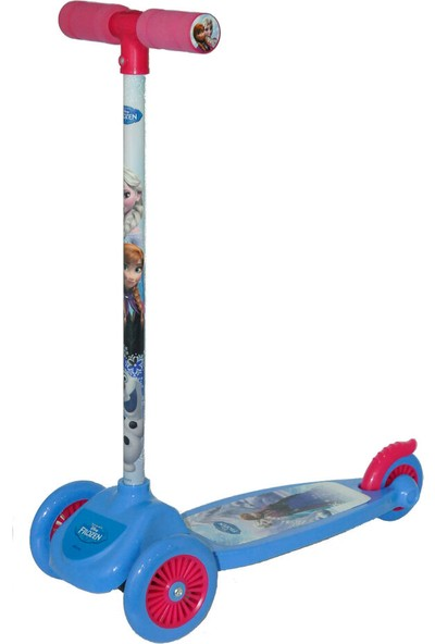Disney Frozen 3 Tekerlekli Frenli Twistable Çocuk Scooter