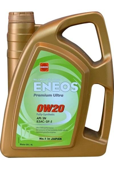 Eneos Premium Ultra 0W-20 4 Litre Motor Yağı ( Üretim Yılı: 2020 )