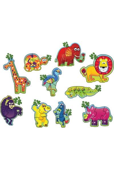 Diy-Toy Baby Puzzle Orman Hayvanları