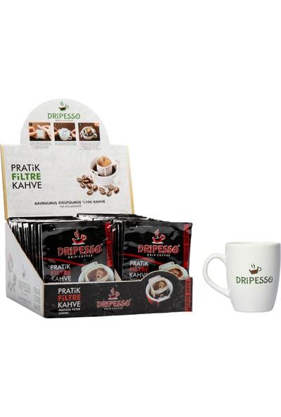 Dripesso Dark Roast Pratik Filtre Kahve 50'li Paket