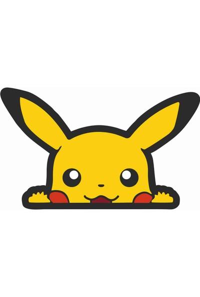 Sticker Atölyesi Pikachu Sticker - 20159 Renkli 18 x 10.5 cm