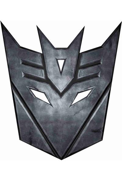 Sticker Atölyesi Transformers Sticker - 20296 Siyah 9 x 10.5 cm
