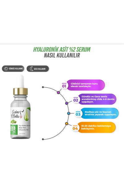 Hyaluronik Asit Serum %2 30 ml