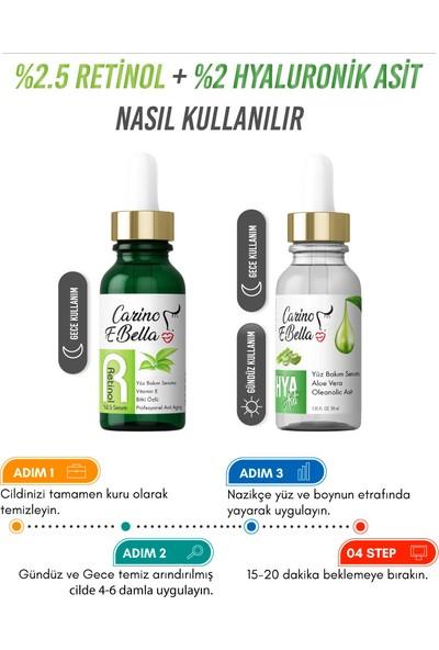 Hyaluronik Asit Serum - Retinol Serum 30 ml