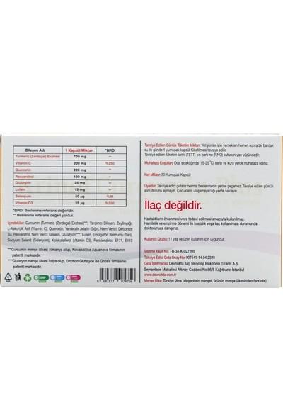 Krinol Curcumin Plus - Novasol Curcumin - 30 Kapsül - 1 Kutu