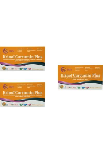 Krinol Curcumin Plus - Novasol Curcumin - 30 Kapsül - 3 Kutu