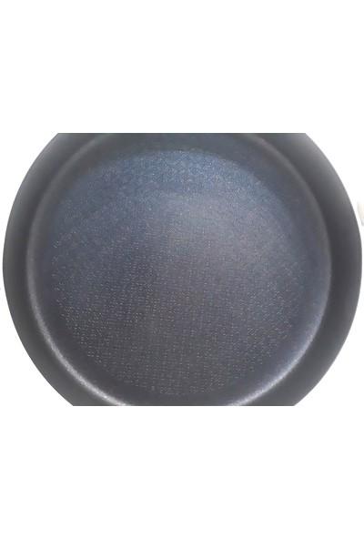 Cena 32 cm Basık Titanyum Pilav Tencere