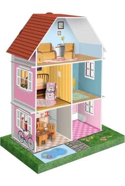 Arnas Toys Mobilyalı Bebek Oyun Evi