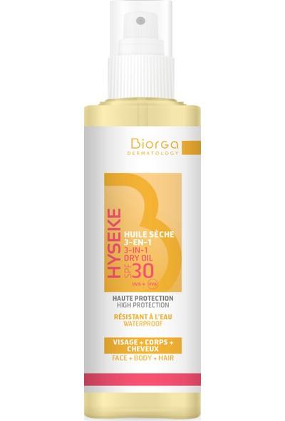 Apaisac Biorga Hyseke Biorga 3-In-1 Spf 30 Dry Oil 100 ml