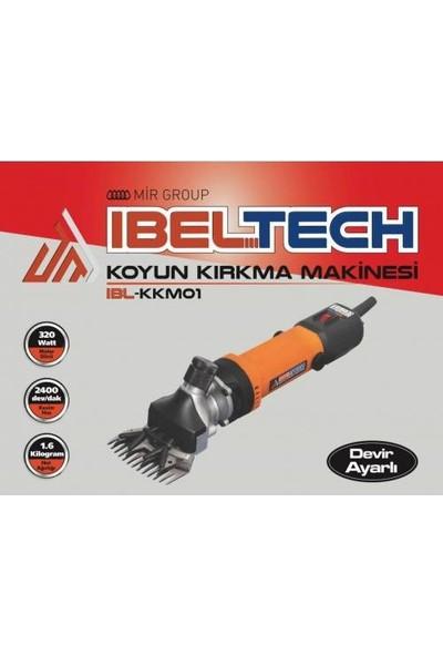 Ibeltech 320 W Koyun Kırkma Makinesi Metal Şanzıman