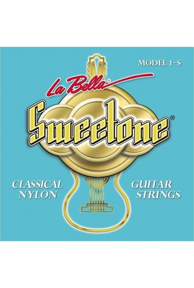La Bella Gitar Aksesuar Klasik Tel Labella Sweetone 1s