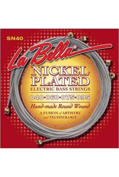 La Bella Gitar Aksesuar Bas Tel Labella 5 Telli SN40 0,40-0,95