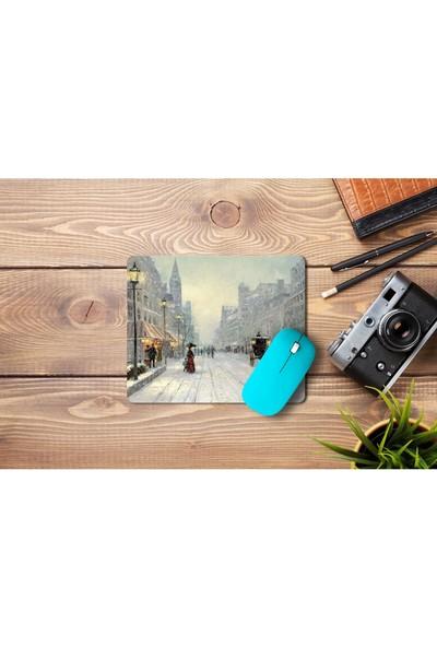 Wuw Kış Portresi Mouse Pad