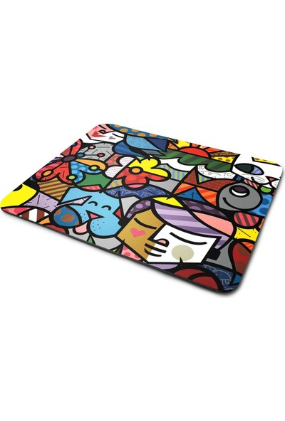 Wuw Renkli Tasarım Mouse Pad