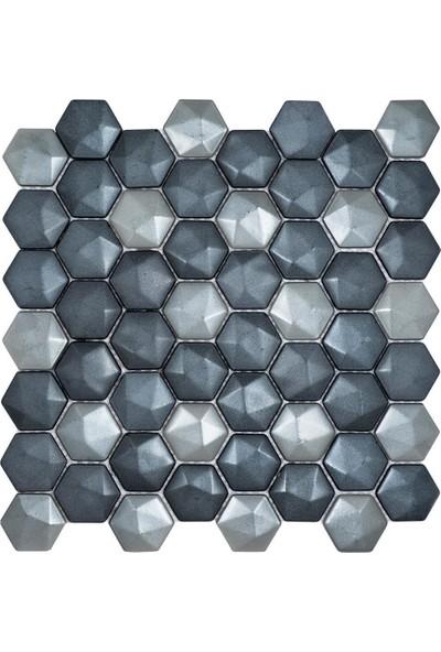 Mossaıca Altıgen Mozaik FBA109