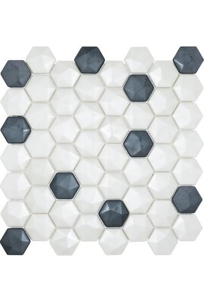 Mossaıca Altıgen Mozaik FBA110