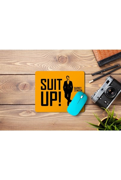 Wuw Suit Up Barney Stinson Mouse Pad