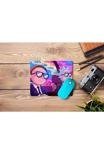 Wuw Rick And Morty Mouse Pad