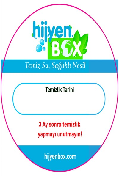 Hijyen Box Sebil Temizlik Sıvı Jel Solüsyon Temizleme Seti 5 Kutu
