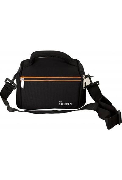 Pdx Sony Dslr Fotoğraf Makinesi İçin Kare Set Çanta