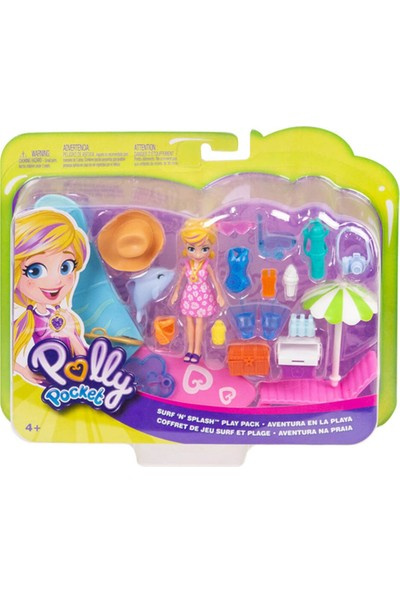 Polly Pocket Sahil Eğlencesi Oyun Setleri