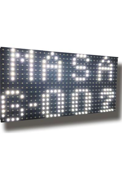 Akınsoft Garson Çağrı Sistemi LED Bildirim Paneli Beyaz