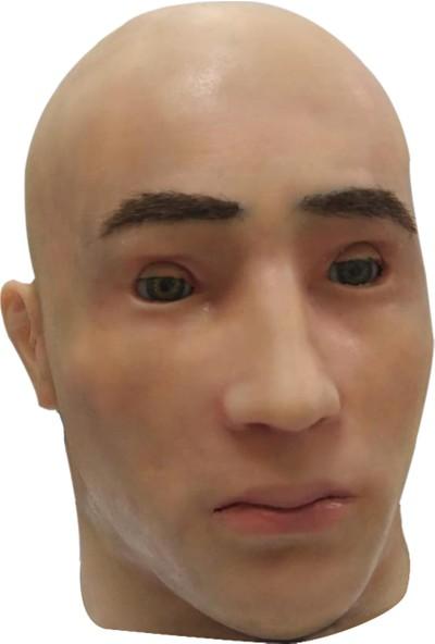 Akınrobotics Animatronik Kafa Silikon Maske